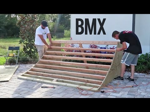 Build the PERFECT BMX Quarter Pipe - Tips and Tricks