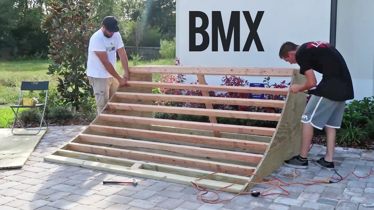 Build The Perfect Bmx Quarter Pipe Tips And Tricks Youtube