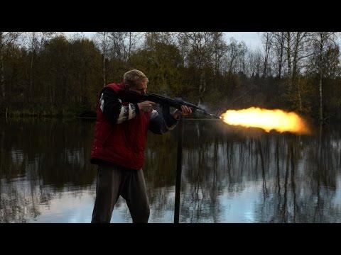 Игрушки для пацанов -  АК-47 и карабин Симонова