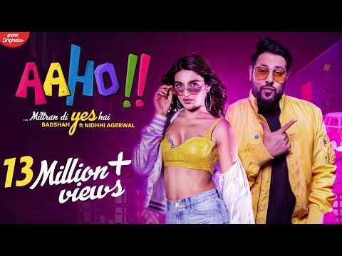 aaho-mittran-di-yes-hai-|-badshah-ft.-nidhhi-agerwal-|-new-song-2019-|-party-songs-|-aaho-music