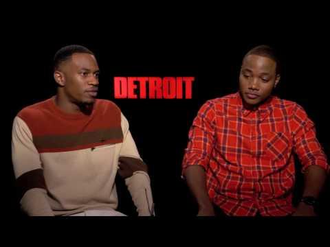 "Malcolm David Kelley, Leon Thomas III Interview for ""Detroit"""