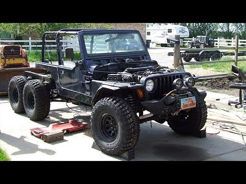 Jeep Wrangler TJ 6x6 Off Road Truck Build Project