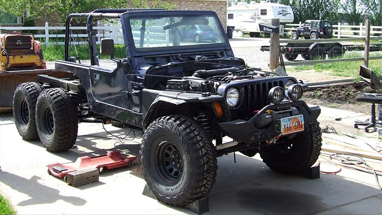 Jeep Wrangler Tj 6x6 Off Road Truck Build Project
