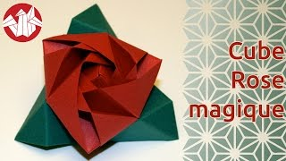 Origami - Magic Rose Cube