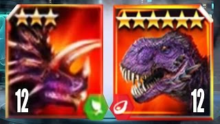 OMEGA 09 Vs JUGGERNAUT 32 - Jurassic World The Game