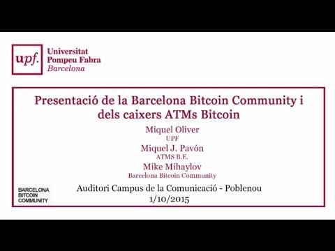 Conferencia bitcoin barcelona