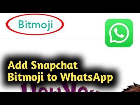 Вопрос: Как использовать Bitmoji в WhatsApp на Android устройстве?