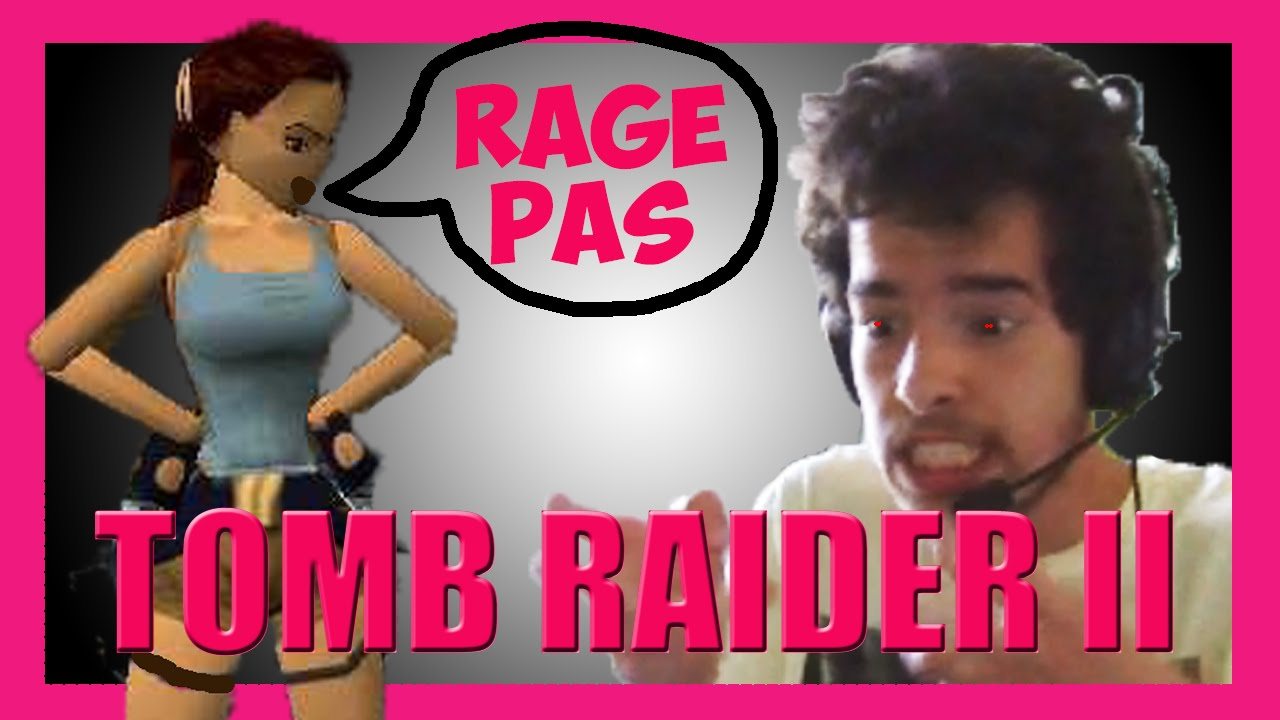 Ancienne Video Ps1 Lara Croft Ses 2 Amis Tomb Raider 2