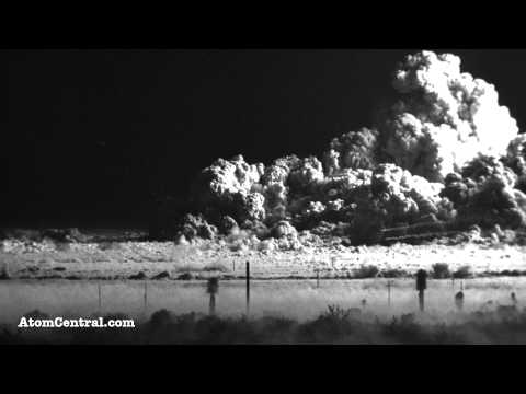 Atomic Bomb Test Video From 1953 Looks Like A Model But Is Terrifyingly Real