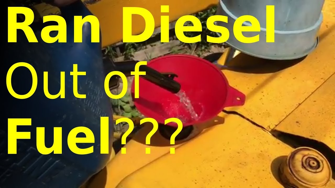 best way to bleed diesel fuel system step by step  [ 1280 x 720 Pixel ]