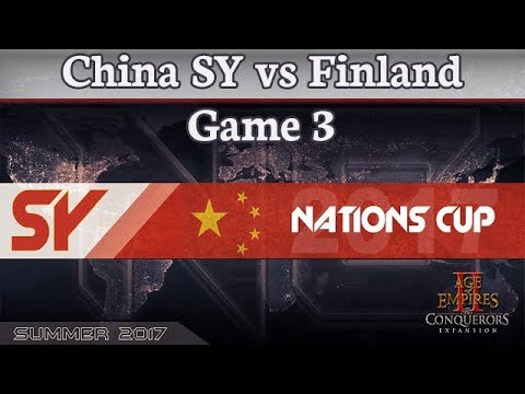 SY Nations Cup - China SY vs Finland - Game 3