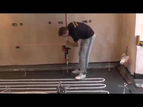 Self Levelling Floor Screed Installation by Flow Screed Services
