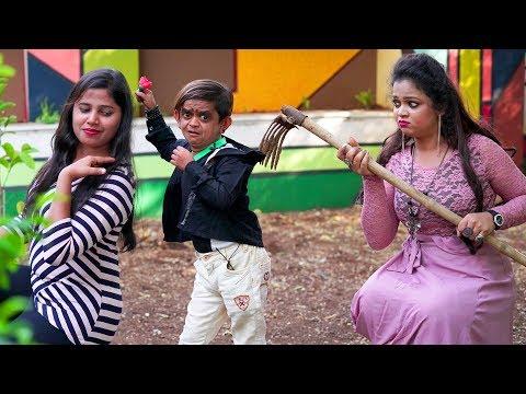 "छोटू का फटका 440 का झटका  "" Desi Chhotu English Mem ""Part 32"" Khandesh Comedy Video"