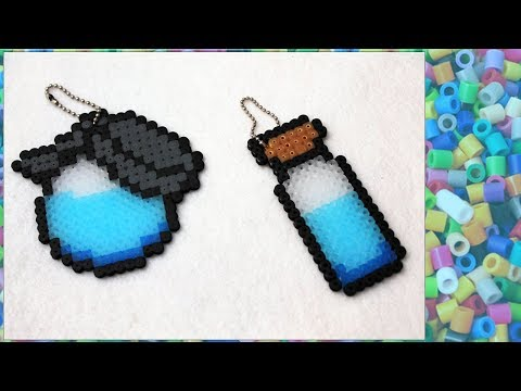 DIY KEYCHAIN POTION from FORTNITE with HAMA BEADS - YouTube