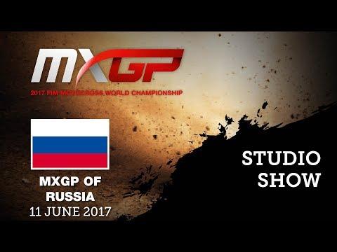 Studio Show Russia 2017 with Antonio Cairoli and Thomas Olsen #Motoross
