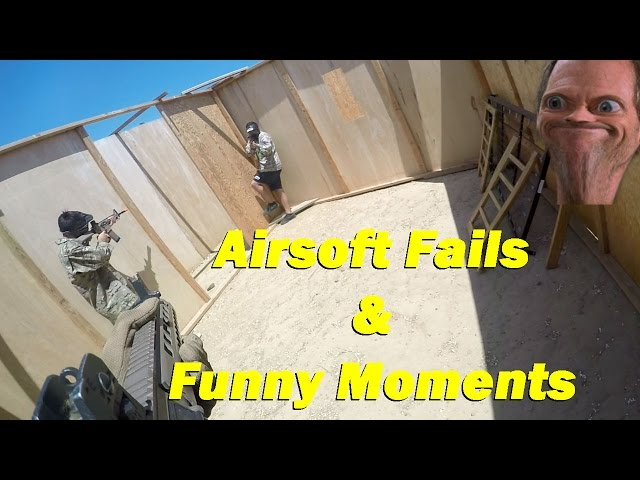 AIRSOFT FAILS and FUNNY MOMENTS Ep 1