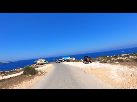 Cyprus - Drive to Cape Greco on Cyprus - Nice views