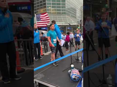 "Jim Diego - ""Star Spangled Banner"" At The 2018 Abbott Dash To Finish Line 5K/USATF 5K Championships"