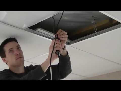 Как устанавливать светодиодные панели серии LED