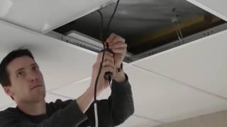 видео Светодиодные светильники Армстронг 600х600