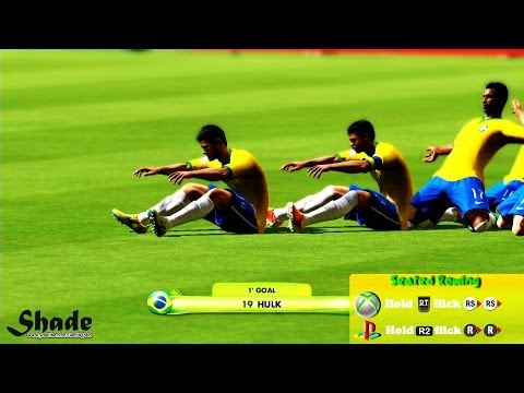 2014 FIFA World Cup Brazil All Celebrations Tutorial | Xbox & Playstation | HD 1080p