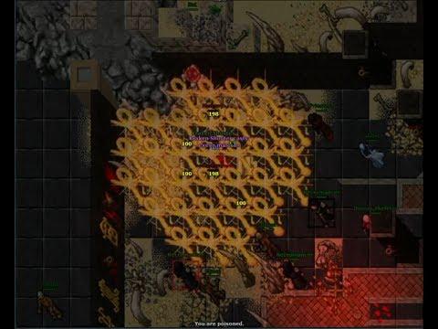 Tibia: Quest guide 4 (Medusa shield quest)