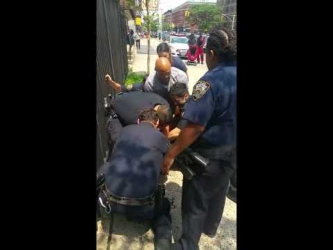 POLICE BRUTALITY IN NEW YORK HARLEM