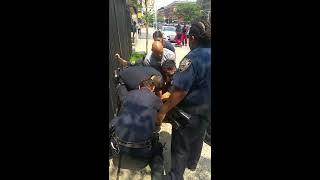 POLICE BRUTALITY IN NEW YORK HARLEM