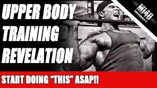 Upper Body Chest and Back Training Revelation IFBB Bodybuilder Ben Pakulski