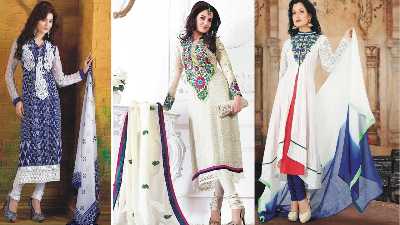 fd71226b0e0 Ladies Salwar Kameez Kurti Suit Latest Fashion for Girls 2017 2018 | Types  Of Punjabi Salwar Suit