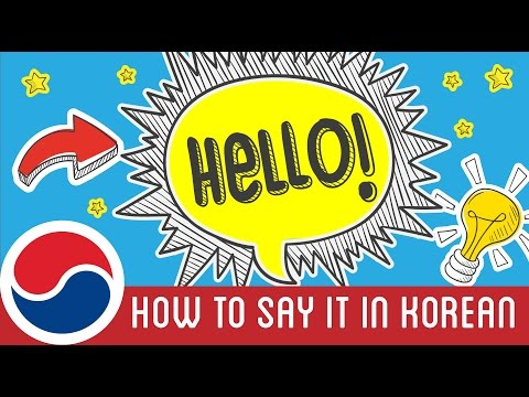 "How to Say ""Hello"" in Korean 