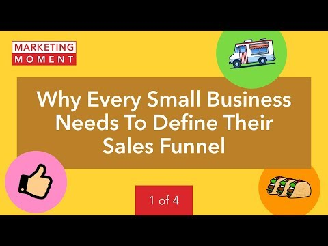 Why Every Small Business Needs To Define Their Sales Funnel - Marketing Moment