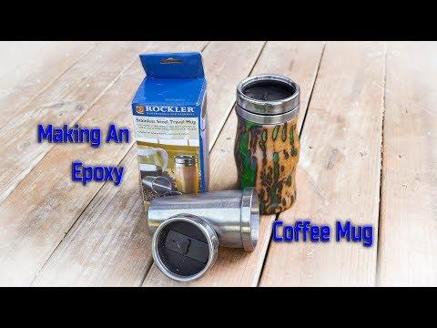 Making An Epoxy Coffee Mug