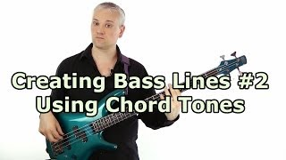 How to play a bass line through a chord progression (L#53)