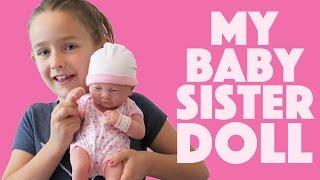 La Newborn Babydoll Toy Doll How to Change Diaper Like ReBORN Baby Doll