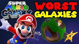 Top 10 WORST Galaxies in Super Mario Galaxy Feat. Nathaniel Bandy !