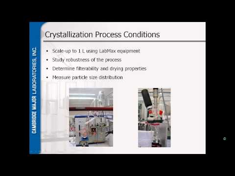 Integration of Solid State Chemistry and Process Development