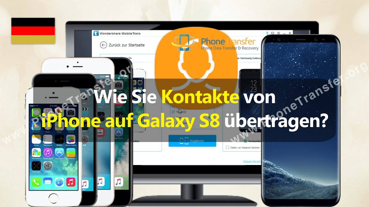kontakte in iphone übertragen