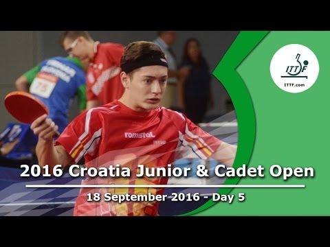 2016 Croatia Junior & Cadet Open - Day 5