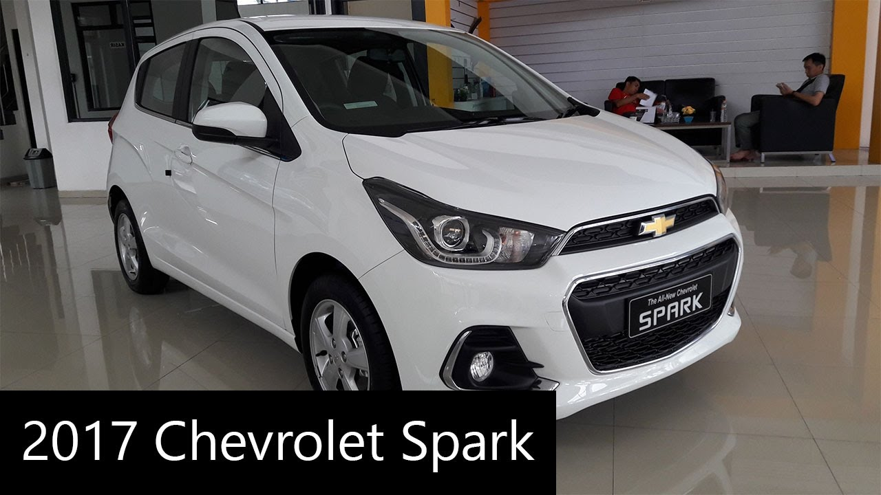 2017 Chevrolet Spark - Exterior and Interior Walkaround - YouTube