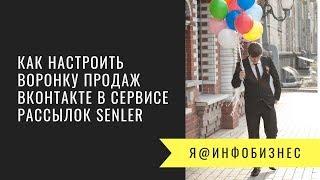 Як налаштувати воронку продажів Вконтакте в сервісі розсилок Senler