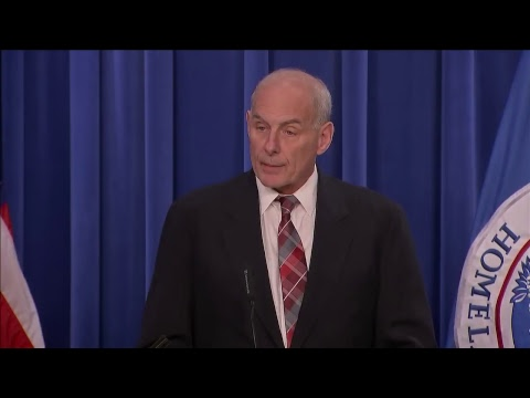 Secretary Kelly announces new 'victims of immigration crime' office