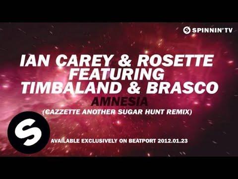 Ian Carey & Rosette Feat. Timbaland & Brasco - Amnesia (CAZZETTE Another Sugar Hunt Remix) [Teaser]