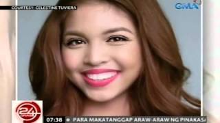 24oras celebrity make up artist na si juan sarte pinuri ang natural beauty ni maine mendoza