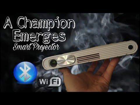 Best Portable Projector 2017 Under $400 | Wifi + Bluetooth Smart Pocket Projector