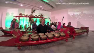 ISAT Gamelan Orchestra performance in QVMAG Launceston