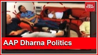 People's Court | 24 Hours On, Arvind Kejriwal And Co Continue To Protest At L-G House