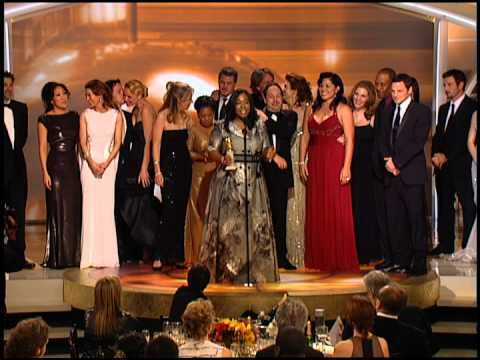 Golden Globes 2007 Greys Anatomy Best Tv Drama Youtube