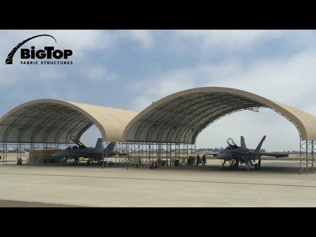 Big Top Shelters - Flightline Sunshades