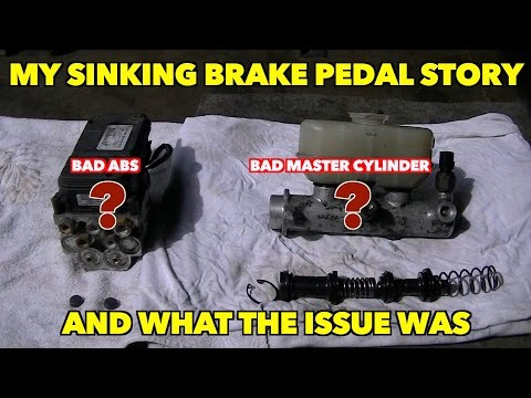 Ford (Expedition) Master cylinder Fail: A look at why it did. And ABS info.